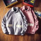 Image of Lettering Corduroy Buttoned Jacket