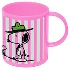 SNOOPY Plastic Cup (Pink) 1596