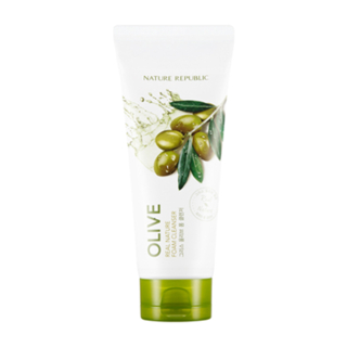 Real Nature Foam Cleanser - Olive