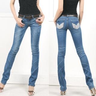 Bloom Girl Skinny Jeans 1021886409 | Womens Asian Pants