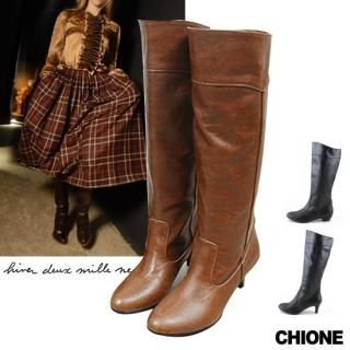 Buy Chione Long Boots – Heel 2cm or 6cm 1021467438