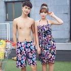 Set: Couple Floral Bikini + Cover-Up / Shorts 1596