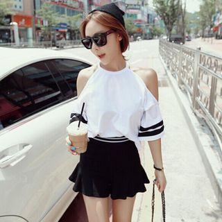 Short-sleeve | Shoulder | T-Shirt | Off