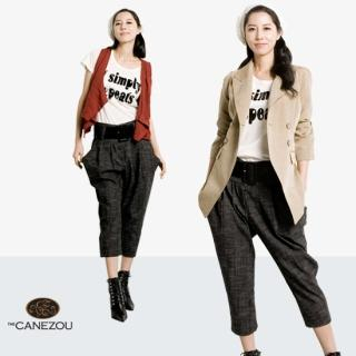 Picture of canezou Cropped Baggy Pants 1023037926 (Womens Saruel Pants, Womens Cropped Pants, canezou Pants, South Korea Pants)