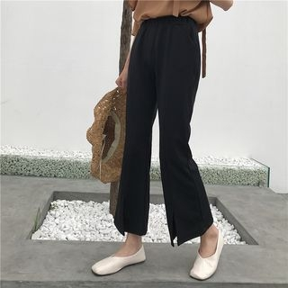 Cropped Boot-cut Pants 1059700681