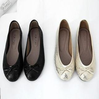 Buy Mango Ribbon Beribboned Flats 1022969194