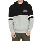 Lettering Two-Tone Hoodie 1596