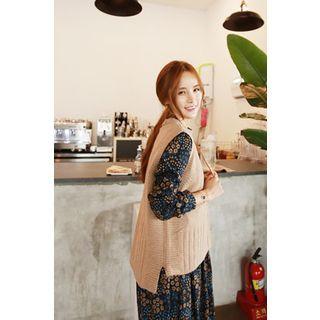 Maternity Sleeveless Knit Top 1062179224