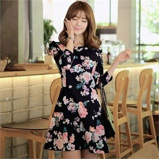 A-Line Floral Dress - United states