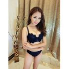 Set: Lace Bra + Panties 1596
