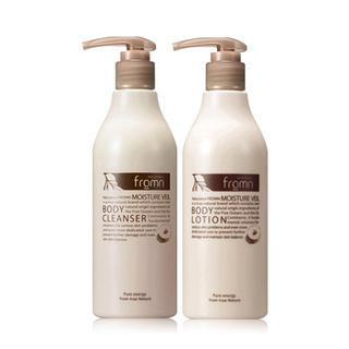 NATURANCE fromn - Moisture Veil Set: Body Cleanser 300ml + Body Lotion 300ml 2pcs 1035501972