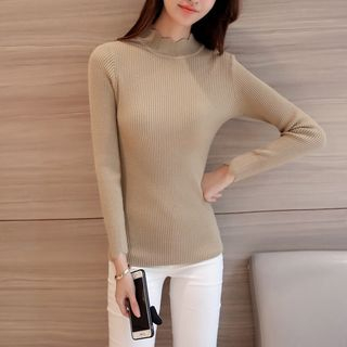 Ribbed Knit Top 1055526157
