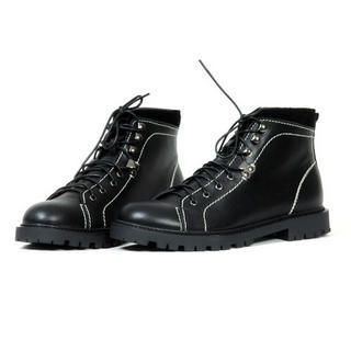 Picture of deepstyle Genuine Leather Boots 1022066651 (Boots, deepstyle Shoes, Korea Shoes, Mens Shoes, Mens Boots)