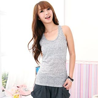 Picture of 59 Seconds Polka Dot Racerback Tank Top 1022071420 (59 Seconds Apparel, Womens Innerwear, Hong Kong Apparel, Slips & Camis)