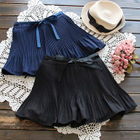 Accordion Pleated Chiffon Skirt 1596