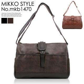 Buy Mikko Faux-Leather Messenger Bag 1022079206