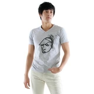 Buy evanissue V-Neck Tee Shirt 1022795999