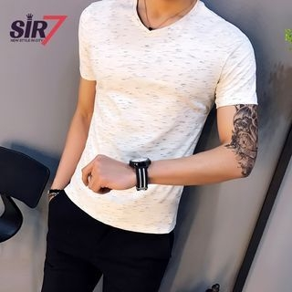 V-Neck Short-Sleeve T-Shirt 1057947322