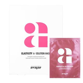 Image of avajar - A-Solution Mask Set - 4 Types Elasticity