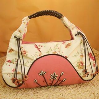 Buy SHY SHY Floral Print Shoulder Bag 1022876412