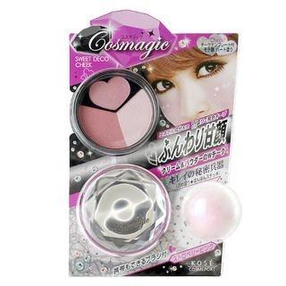 Kose - Cosmagic Sweet Deco Cheek (Strawberry Pink) PK 01