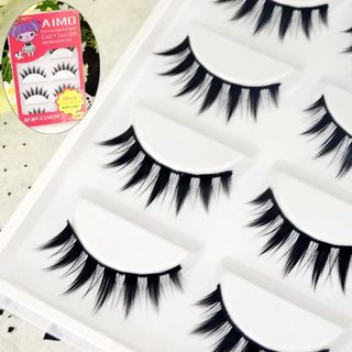 False Eyelashes 5 Pairs 1060255238