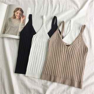 Ribbed Camisole Top 1062406743