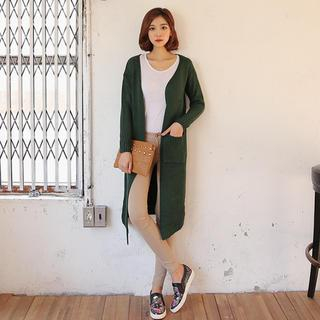 Open-Front Long Cardigan 1037039663