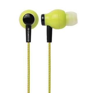 Image of Zumreed ZHP-100 Canal Type Earphone (Lime Yellow)