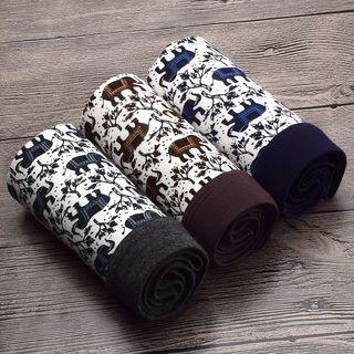 Set of 3: Elephant Print Boxers 1061143297