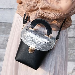 Sequined Crossbody Bag 1061795028