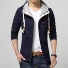 Drawstring Hood Jacket 1596