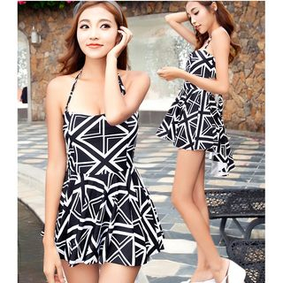 Patterned Swim Shorts / Patterned Swim Dress 1058552018
