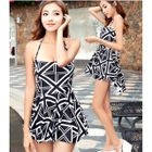 Patterned Swim Shorts / Patterned Swim Dress 1596