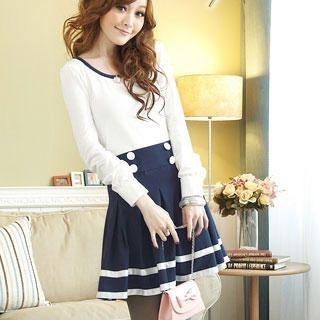 Buy Tokyo Fashion Mock Two-Piece Dress 1022080642