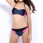 Colour Block Bikini 1596
