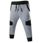 Color-Block Cropped Pants 1596