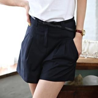 Buy STYLEKELLY High-Waist Shorts 1022690756