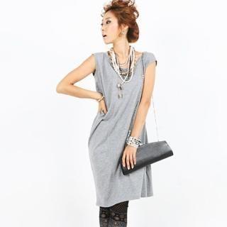Picture of BBon-J Short Sleeve T-Shirt Dress 1023044718 (BBon-J Dresses, Womens Dresses, South Korea Dresses, T-Shirt Dresses)