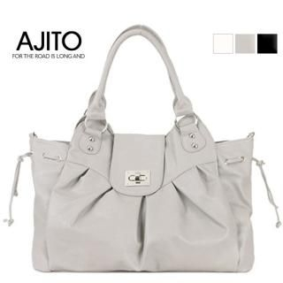 Buy AJITO Faux-Leather Tote 1022522757