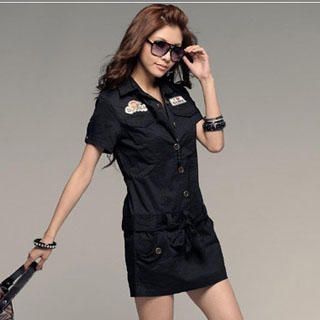 Buy PUFFY Belted Shirtdress 1022890320