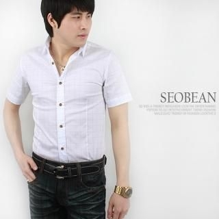 Buy SEOBEAN Short-Sleeve Check Shirt 1022468140