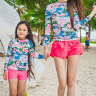 Family Matching Set: Printed Rashguard + Swim Bottom 1596