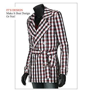 Buy Dirk Lui Double Breasted Jacket 1021403007