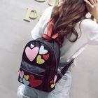 Heart Applique Nylon Backpack 1596