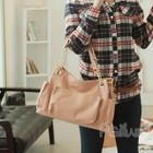 Multi-Pocket Chain Strap Shoulder Bag