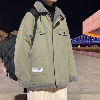 Fleece-lined Zip Jacket