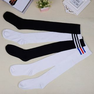 Image of Plain Knee Socks