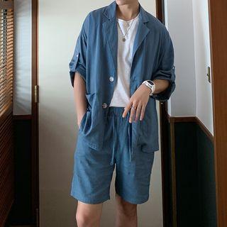 Image of 3/4-Sleeve Shirt / Shorts