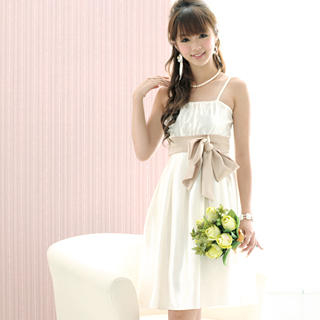 Buy 59 Seconds Bow-Accent Pleated Dress 1021409429